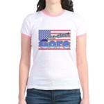 Re-elect Gore Women's Ringer T-Shirt