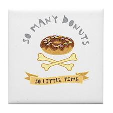 Donut Chocolate Tile Coaster