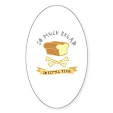 Bread Lover Oval Decal