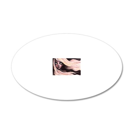 WINDSWEPT 20x12 Oval Wall Decal