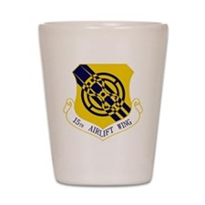 15th Airlift Wing Shot Glass