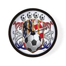 USA Soccer Power Wall Clock