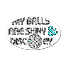 Shiny Disco Balls Wall Decal Sticker