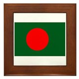 Cute Bangladesh Framed Tile