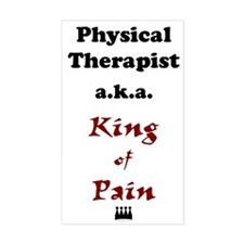 King of Pain Rectangle Decal