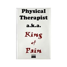 King of Pain Rectangle Magnet