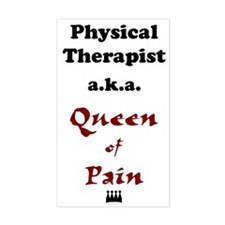 Queen of Pain Rectangle Decal
