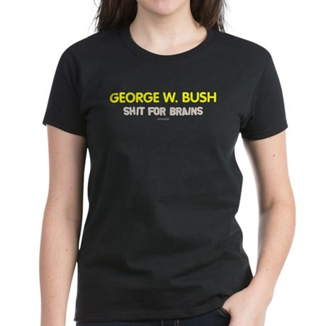 Bush - Shit for Brains Womens Black Tee