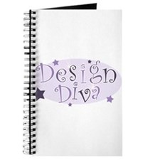 """Design Diva"" [purple] Journal"