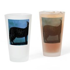 savannah cat Drinking Glass