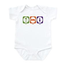 Eat Sleep Teach Infant Bodysuit
