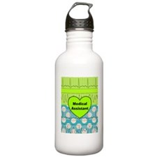 medical assistant blan Water Bottle