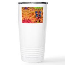 Aztec Temple Travel Mug