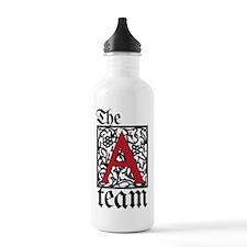 Team Atheist Sports Water Bottle