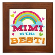 Mimi Is The Best Framed Tile