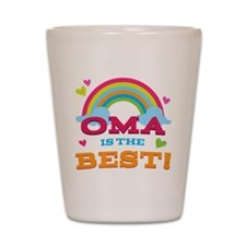 Oma Is The Best Shot Glass