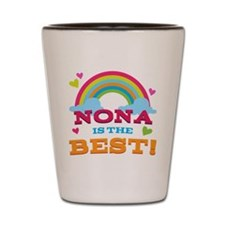 Nona Is The Best Shot Glass