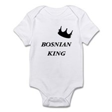 Bosnian King Infant Bodysuit