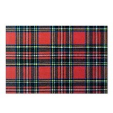 Royal Stewart Tartan2 Postcards (Package of 8)