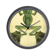 Wallaces Flying Frog large Wall Clock