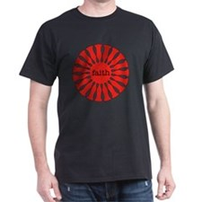 Faith Red Pendant T-Shirt