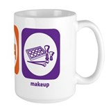 Eat Sleep Makeup Mug