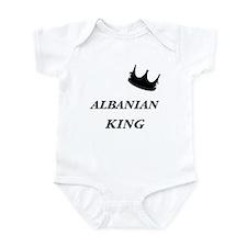 Albanian King Infant Bodysuit