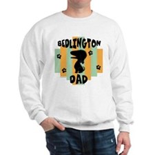 Bedlington Terrier Dad Sweatshirt