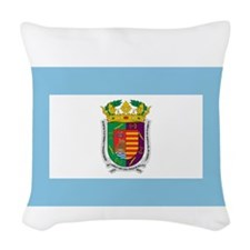 Malaga (Province), Spain Woven Throw Pillow