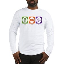 Eat Sleep Law Long Sleeve T-Shirt