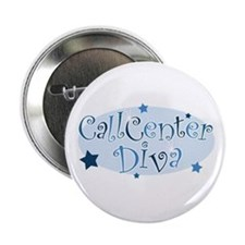 Call Center Diva [blue] Button