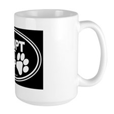 Adopt Dont Shop EURO Oval Mug