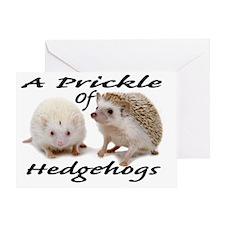 Prickle of Hedgehogs Greeting Card