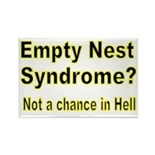 Empty Nest Syndrome Rectangle Magnet