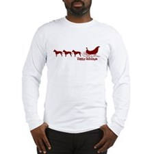 "Staffie ""Sleigh"" Long Sleeve T-Shirt"