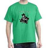 Molon Labe Minuteman Brown T-Shirt