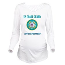 US Coast Guard Long Sleeve Maternity T-Shirt