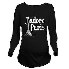 jadore paris Long Sleeve Maternity T-Shirt