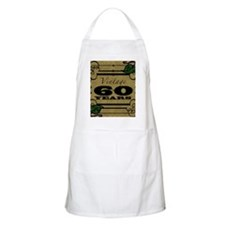 Vintage 60th Birthday (Gold) Apron