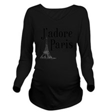 jadore paris Long Sleeve Maternity T-Shirt