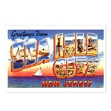 Sea Isle City New Jersey Postcards (Package of 8)