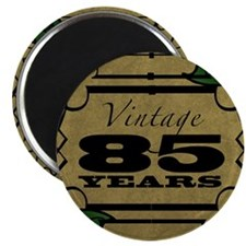 Vintage 85th Birthday (Gold) Magnet