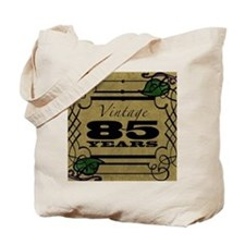 Vintage 85th Birthday (Gold) Tote Bag