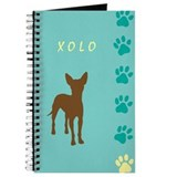 xoloitzcuintli paws Journal