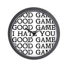 Good Game Wall Clock