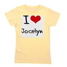 I Love Jocelyn Girl's Tee