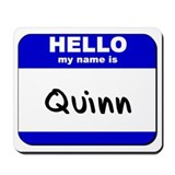 hello my name is quinn  Mousepad