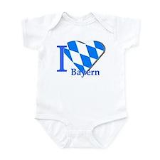 I love Bayern Infant Bodysuit