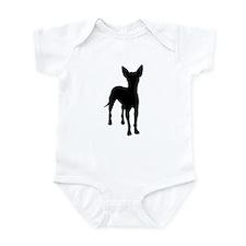 xoloitzcuintli dog Infant Bodysuit
