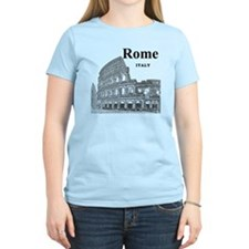 Rome_12X12_v2_Black_Colosseu T-Shirt